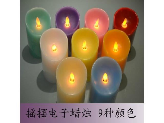 LED尺寸蠟燭,電子蠟燭,圓柱蠟燭,婚宴布置,浪漫裝飾燈
