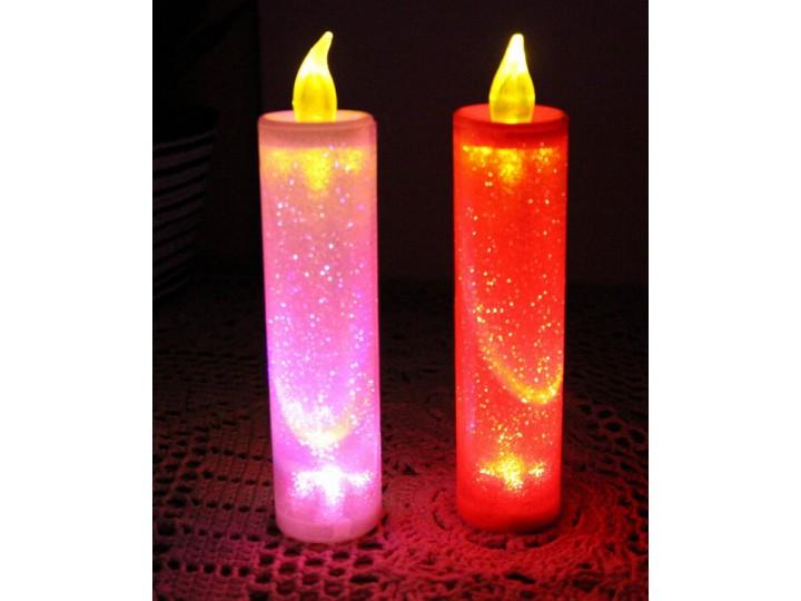 6款變色電子蠟燭,七彩浪漫LED蠟燭, 婚庆酒吧,教會蠟燭