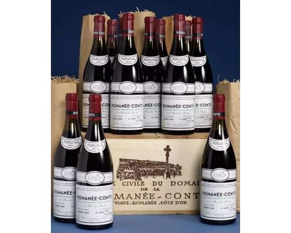 專業回收紅酒-Domaine de la Romanee-Conti